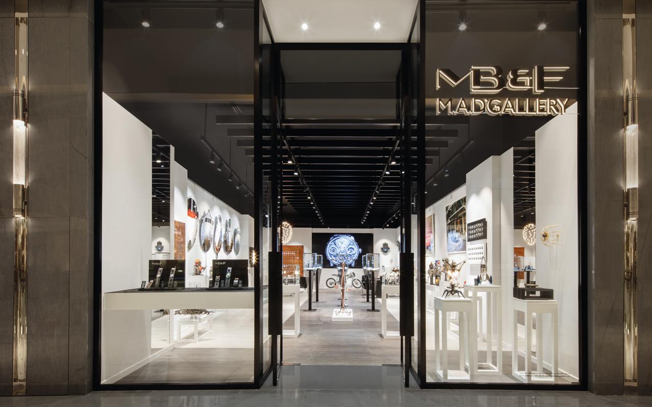 MB&F M.A.D.Gallery estrena ubicación en Dubái
