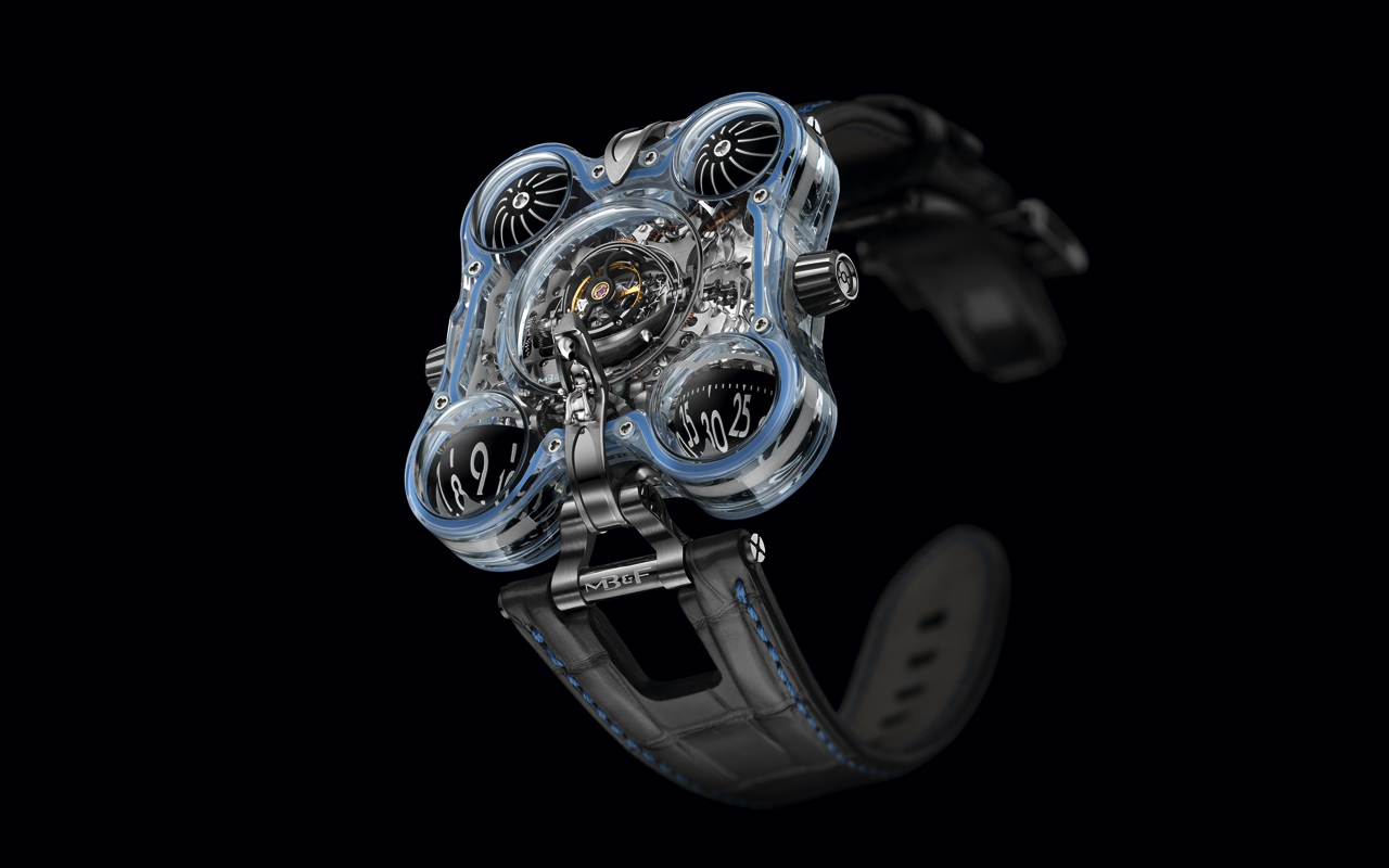MB&F Horological Machine N°6 Alien Nation, 'high-tech' intergaláctica