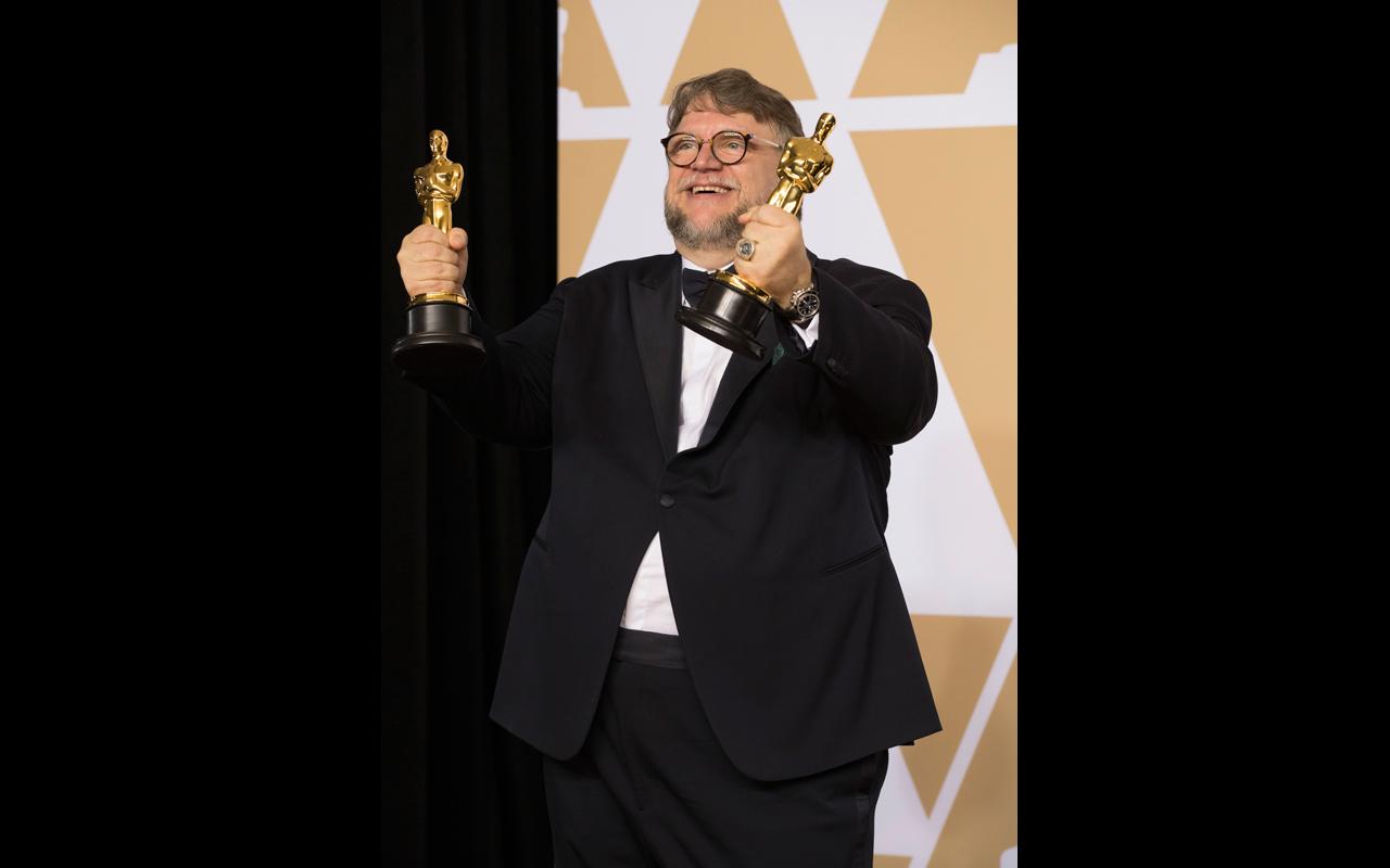 Guillermo del Toro celebra los Oscar con Montblanc