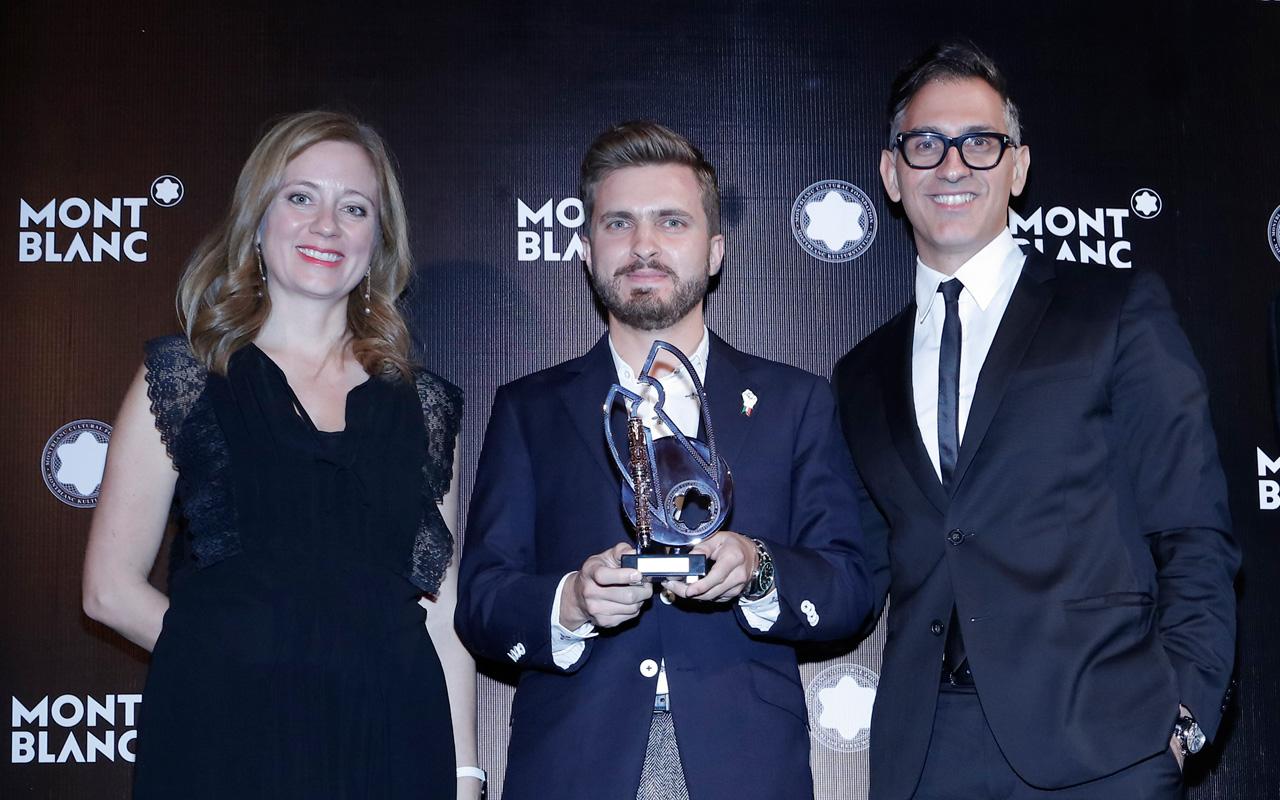 Montblanc premia al filántropo mexicano Moisés Cosío