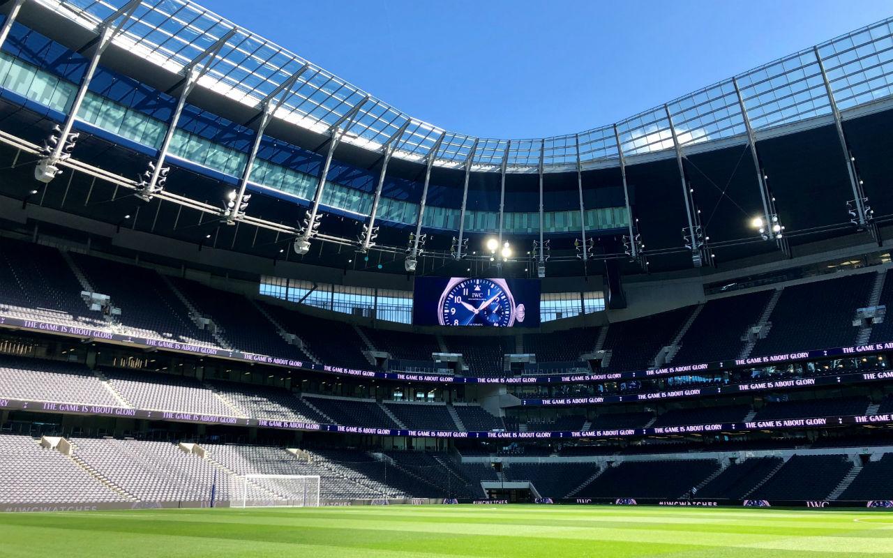 IWC festeja apertura del Tottenham Stadium