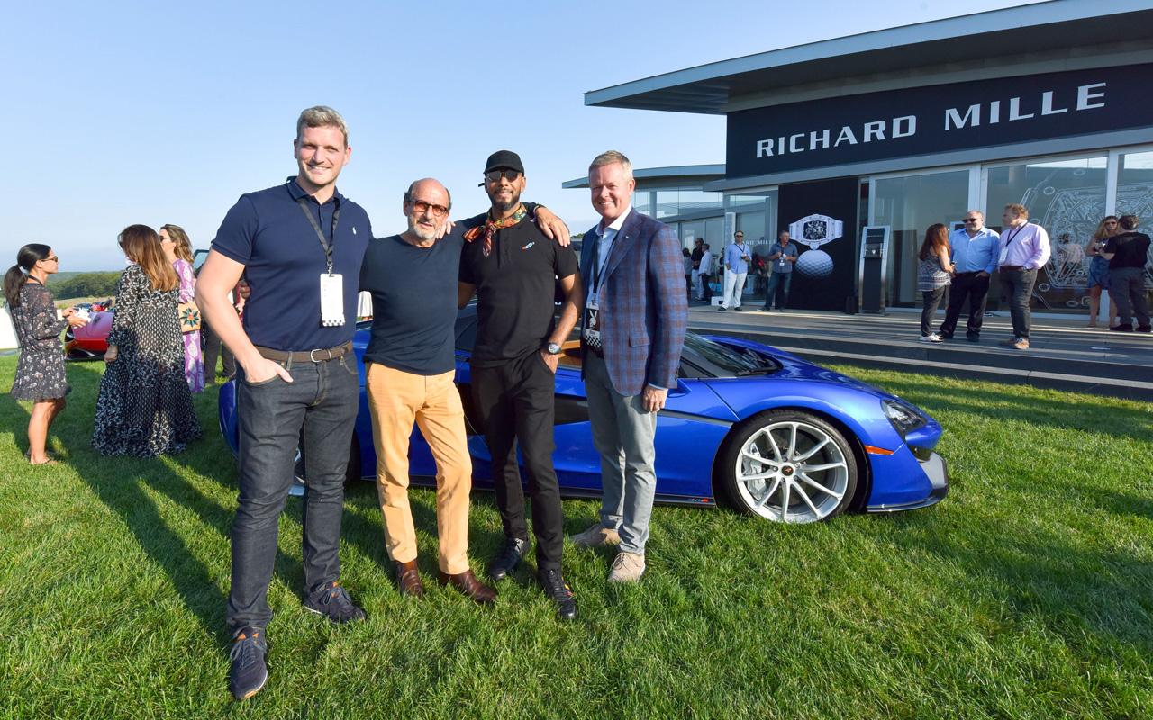Richard Mille celebra al estilo racing