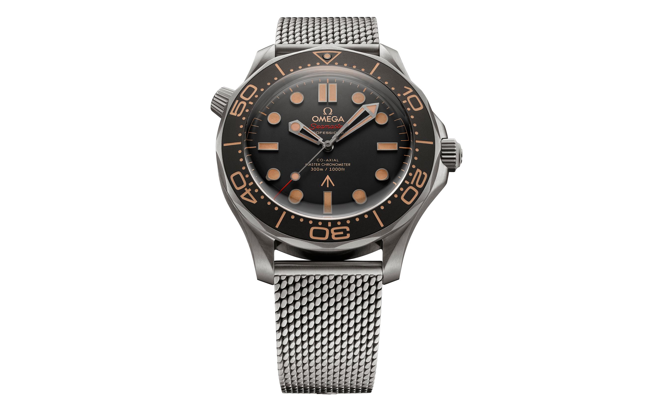 Omega lanza nuevo reloj de James Bond