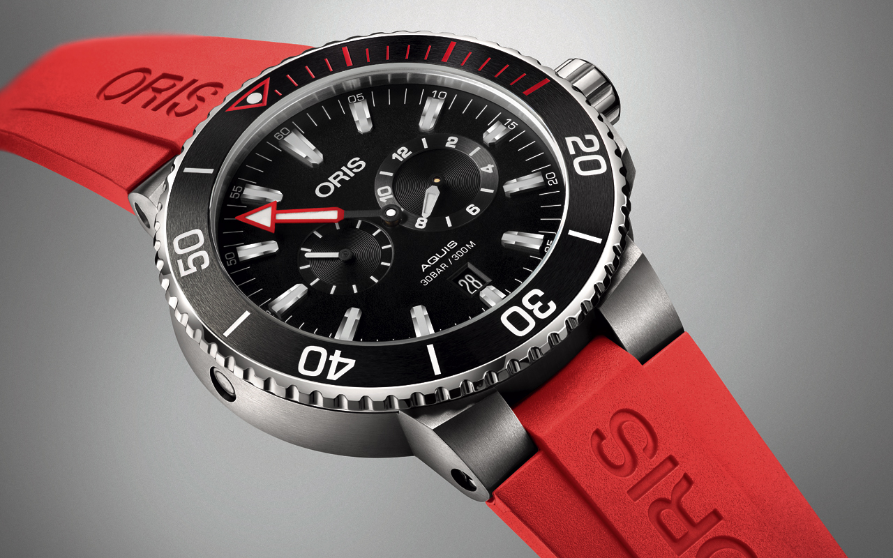 Oris Regulador Master Diver, funcionalidad con estilo