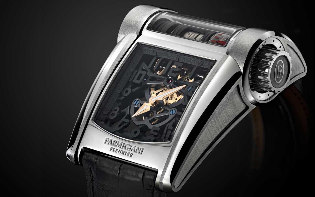 Parmigiani Fleurier Bugatti Type 390, rendimiento y potencia al límite