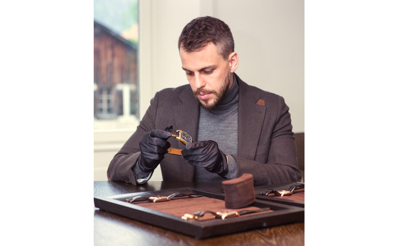 Ilya Sachkov, nuevo embajador de Parmigiani Fleurier