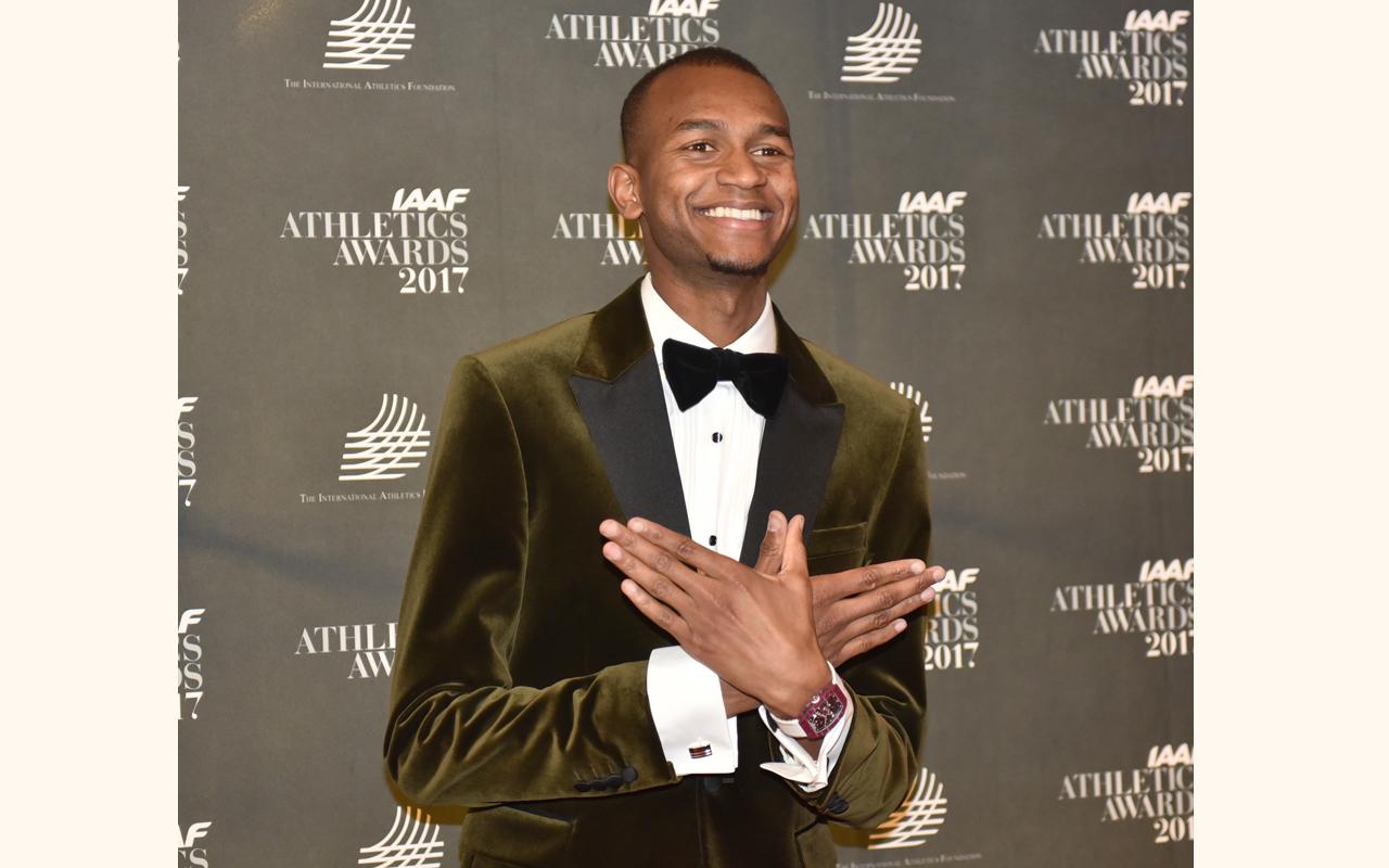 Richard Mille celebra a Mutaz Essa Barshim, el 'Atleta masculino del año'