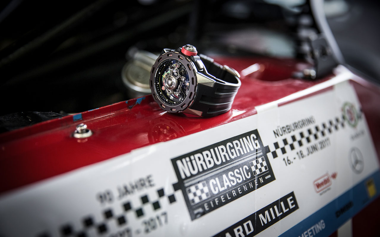 Richard Mille celebra la primera edición del Nürburgring Classic