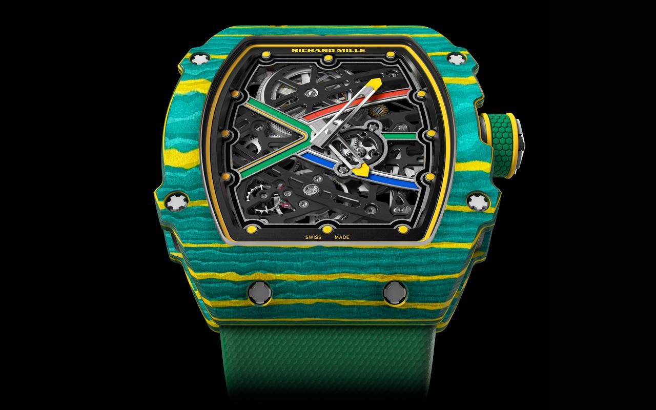 Richard Mille RM 67-02 Sprint y High Jump, aerodinámicos y ultraligeros