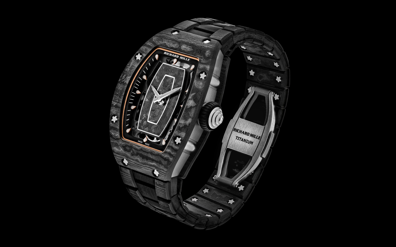 Richard Mille lanza brazalete 'high-tech'