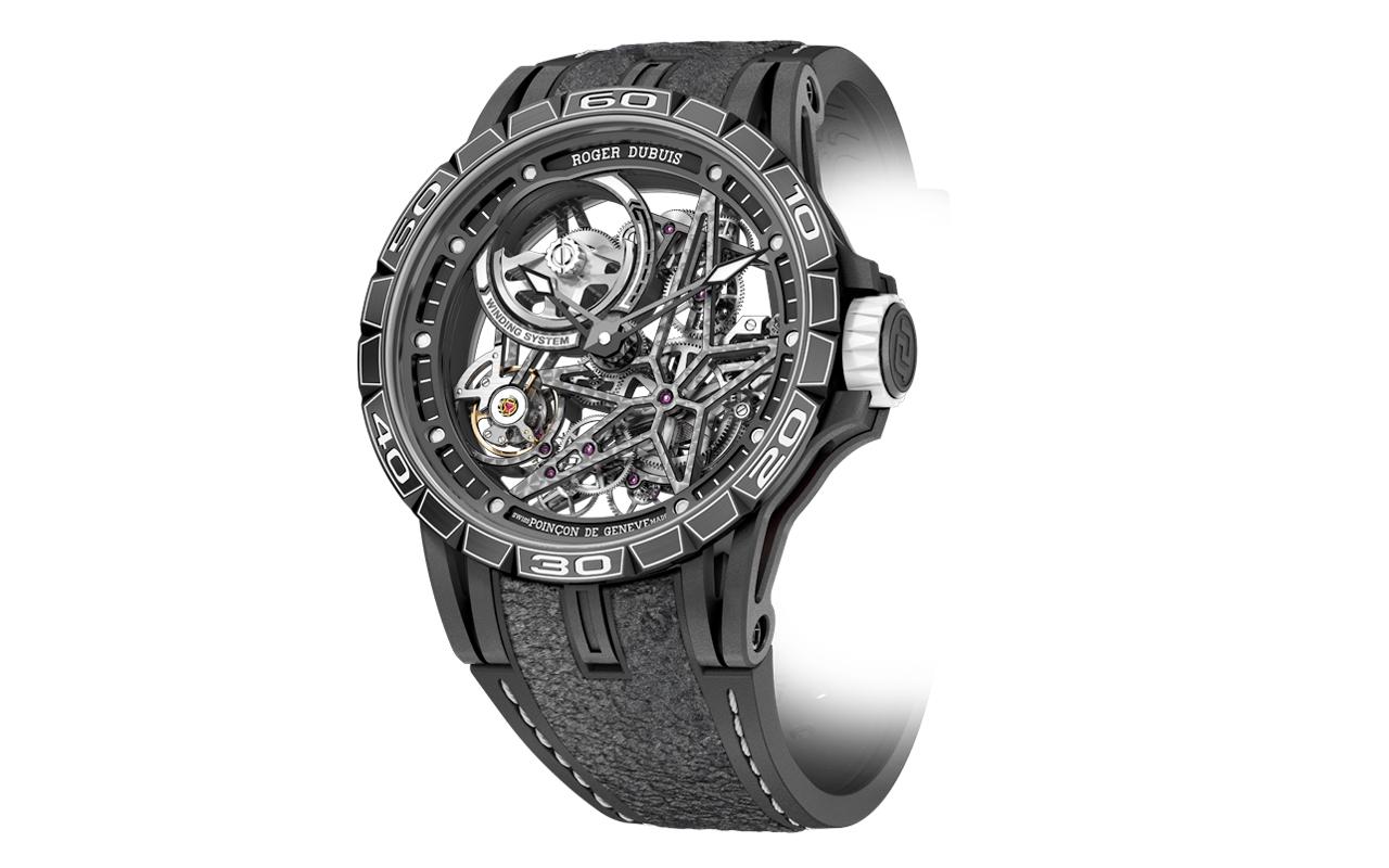 Roger Dubuis Excalibur Spider Pirelli, nueva edición en titanio