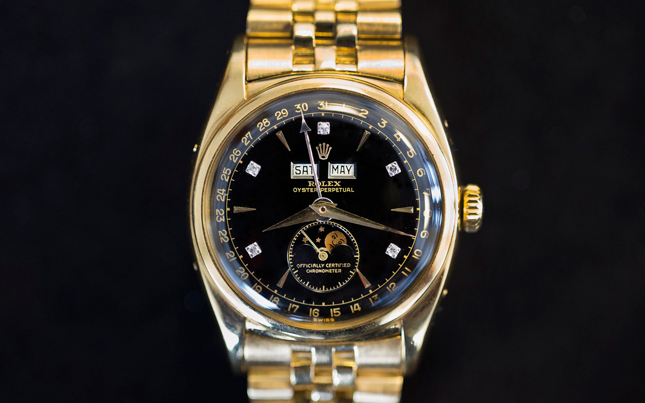 """Rolex """"Bao Dai"""", su reloj más caro en la historia"""