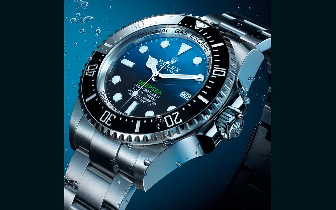 Rolex Deepsea, el reloj de las zonas abisales