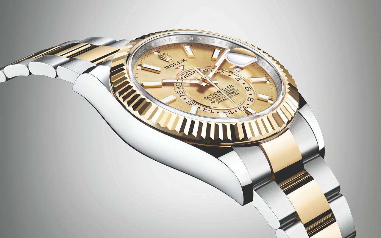 Rolex Oyster Perpetual Sky-Dweller, nuevas versiones en Rolesor
