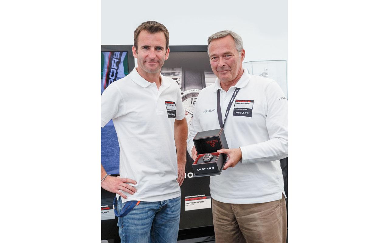 Chopard y Romain Dumas ganan tercera victoria en Pikes Peak