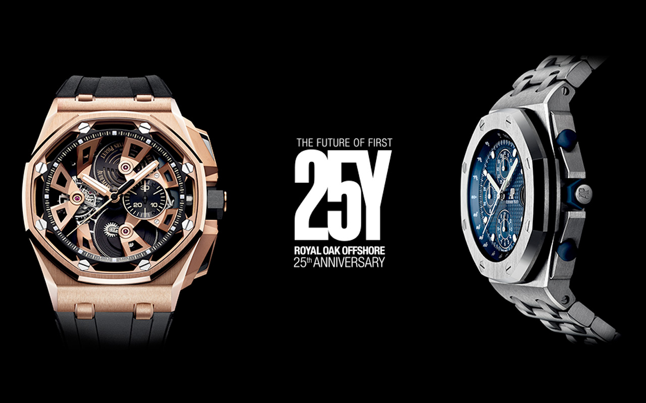 Audemars Piguet celebra 25 años del Royal Oak Offshore