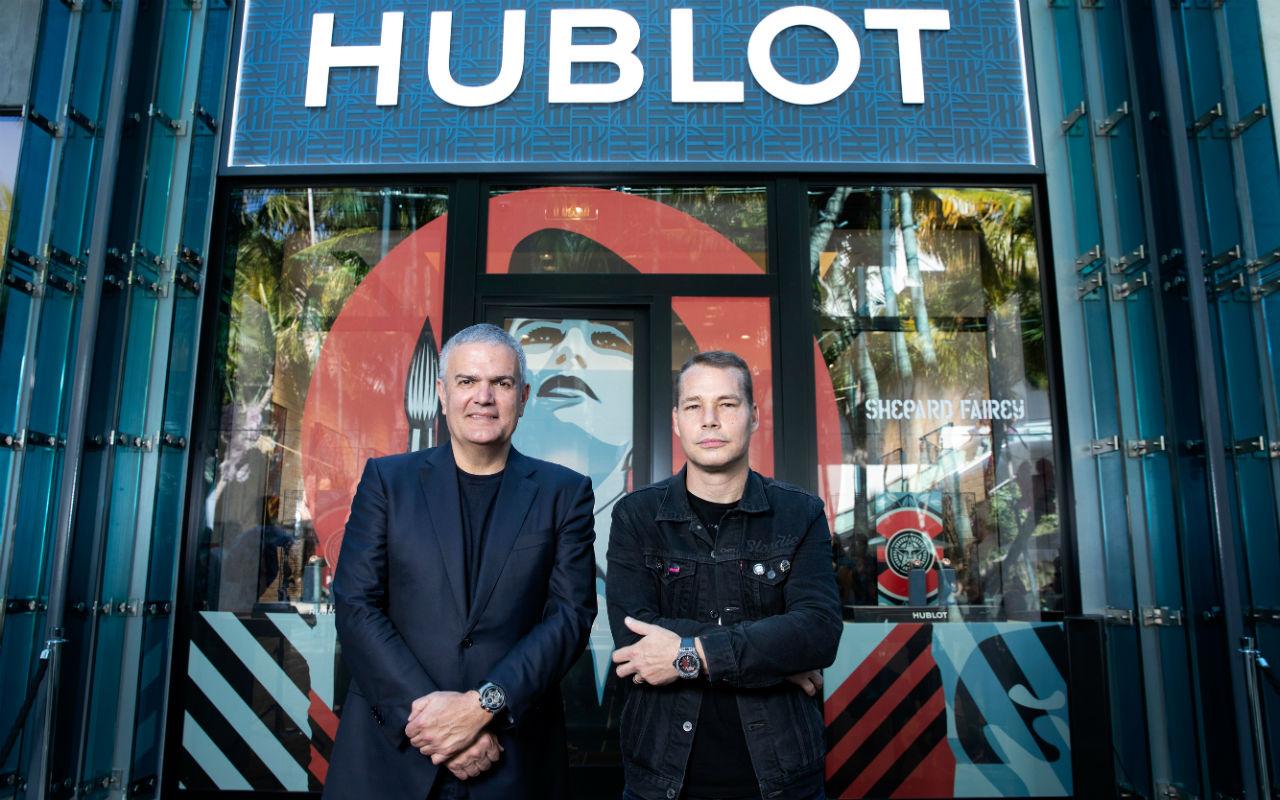 Hublot Galerie reabre sus puertas