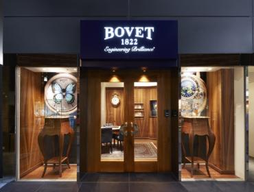 Bovet 1822 inaugura boutique