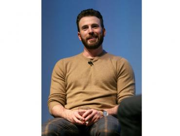 Chris Evans con IWC en la WIRED25 Summit