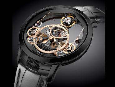 Arnold & Son Time Pyramid, nueva Black Edition
