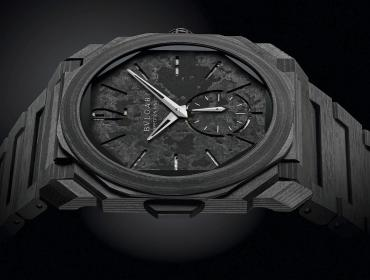 Bulgari Octo Finissimo Minute Repeater Carbon, ADN futurista
