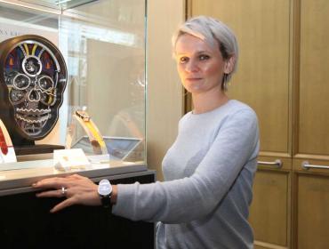 Fiona Krüger, una independiente que compite en el Grand Prix d'Horlogerie de Genève
