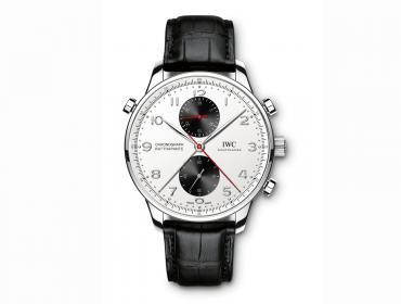 """IWC Portugieser Chronograph Rattrapante, nueva edición """"Boutique Canada"""""""