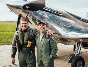 IWC hace historia a bordo de un Spitfire