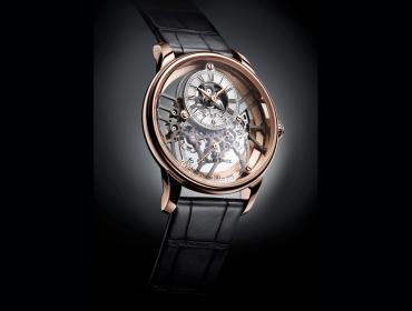 Jaquet Droz Grande Seconde Skelet-One, transparencia secular