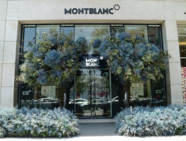 Montblanc se une al Festival de Flores y Jardines de Polanco