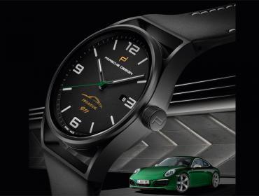 Porsche Design 1919 Datetimer Eternity One Millionth, códigos de leyenda