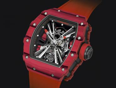 Richard Mille RM 12-01 Tourbillon, mecánica high-tech