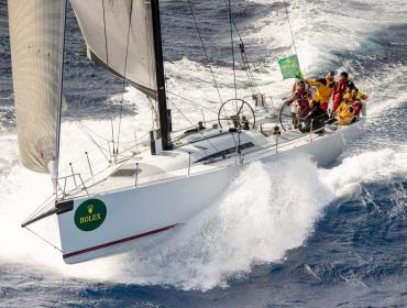 Rolex Middle Sea Race 2017, 103 yates a toda vela