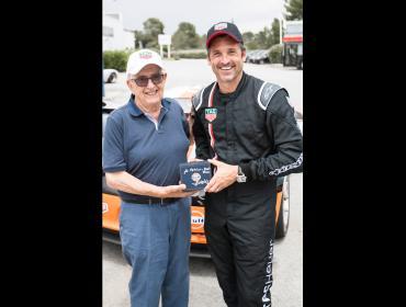 TAG Heuer y Patrick Dempsey, listos para las 24 horas de Le Mans
