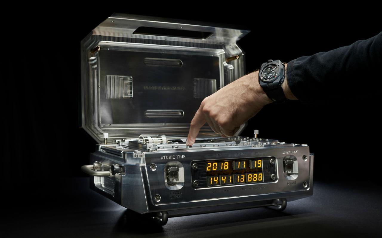 Urwerk crea el Atomic Master Clock