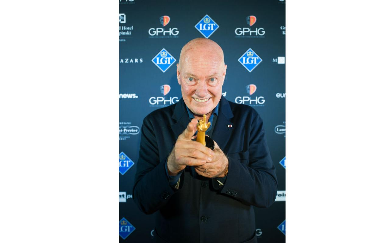 Jean-Claude Biver recibe homenaje
