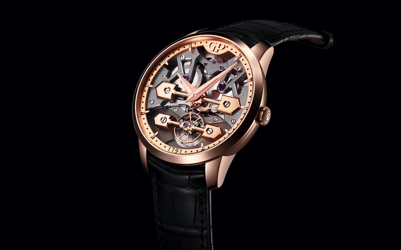 Girard-Perregaux fusiona diseño y mecánica