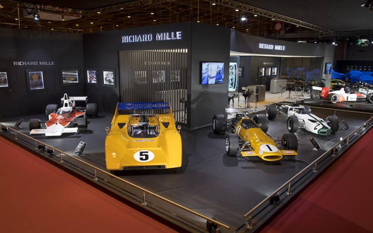 Richard Mille y McLaren, pole position en el Rétromobile 2018
