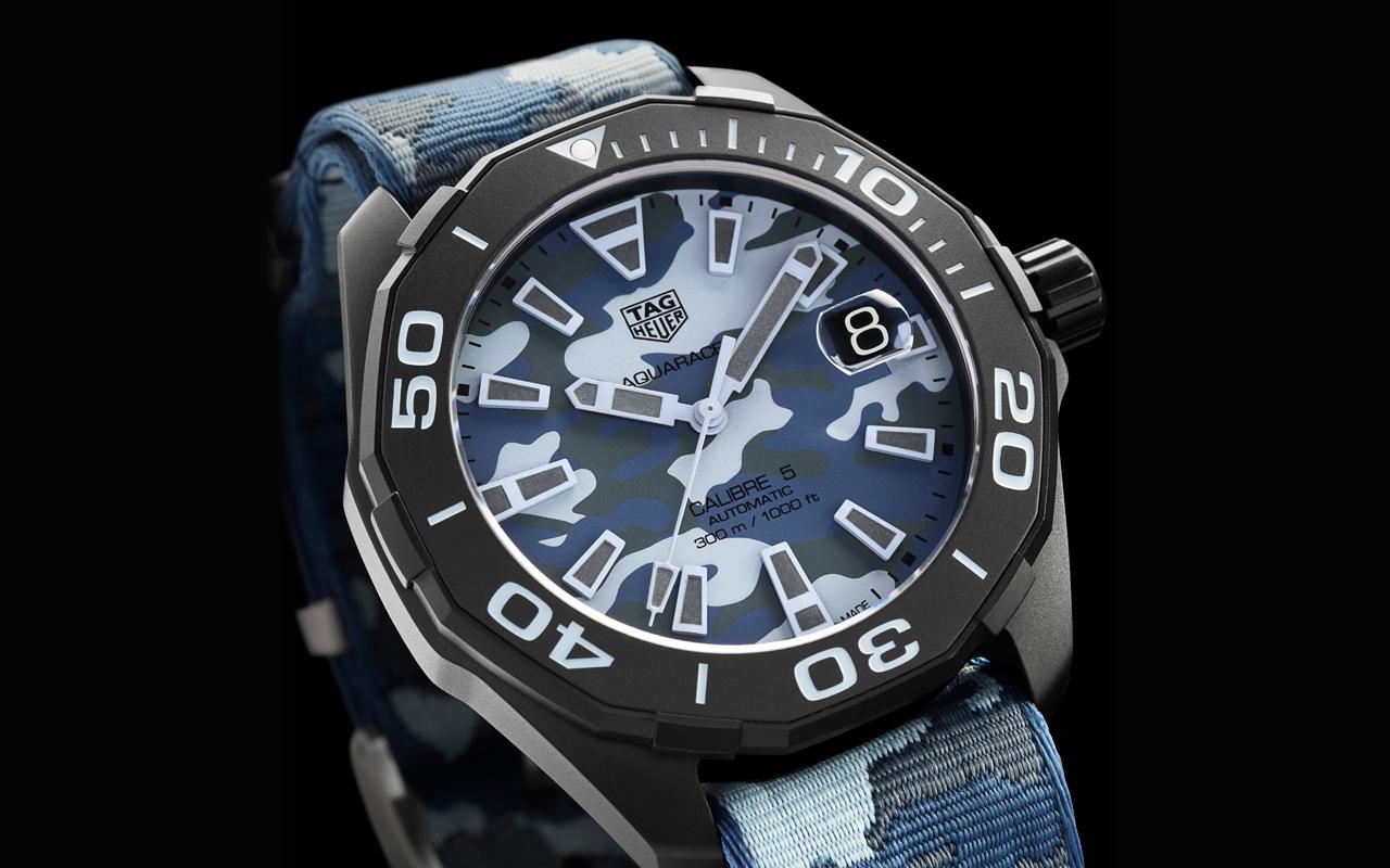 TAG Heuer Aquaracer Camouflage, un reloj todoterreno