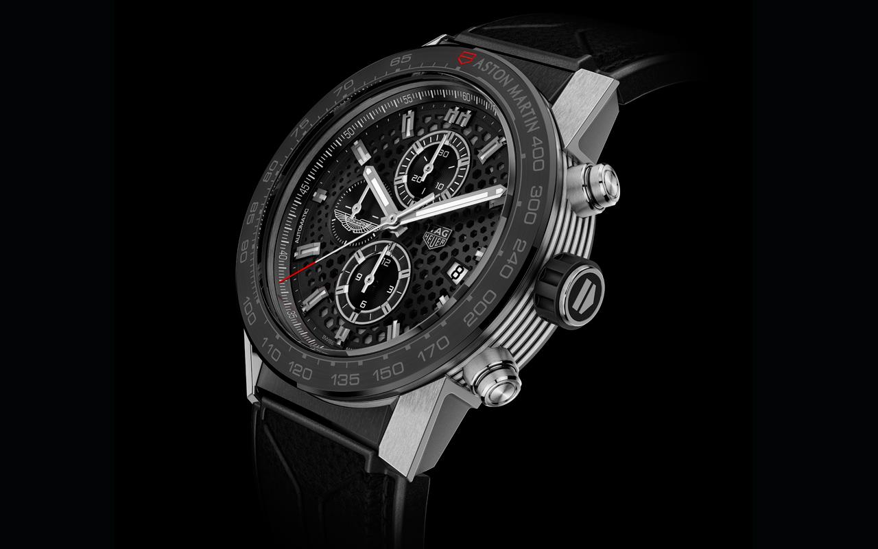 TAG Heuer Aston Martin Special Edition, el crono vuela sobre ruedas