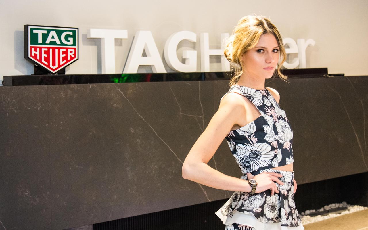 TAG Heuer promueve su colección femenina en Colombia