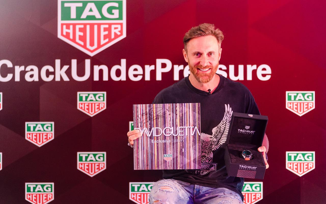 David Guetta celebra con TAG Heuer en Ibiza