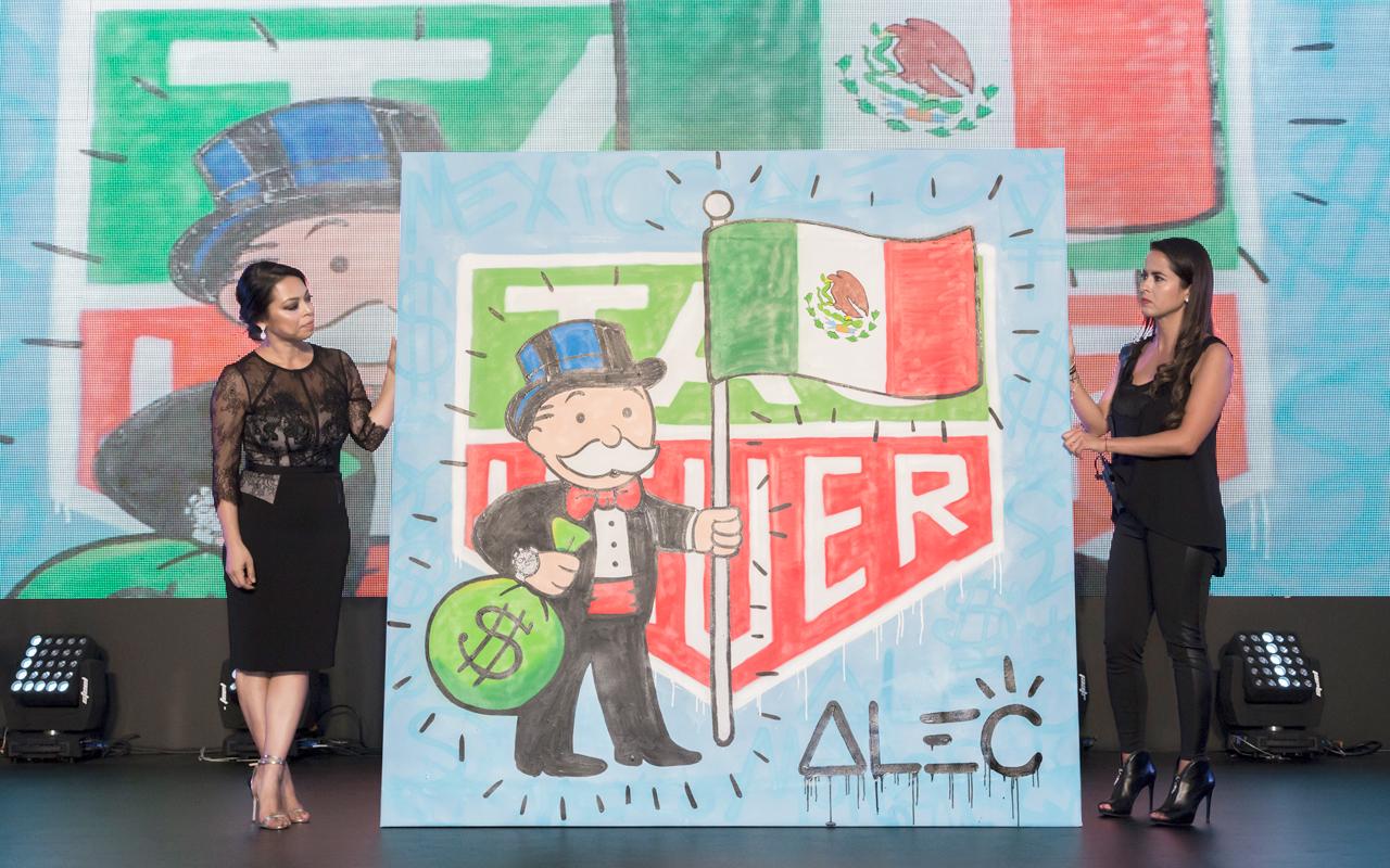 TAG Heuer se une a subasta en apoyo a damnificados del sismo en México