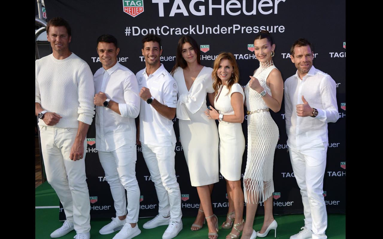 TAG Heuer y Ricciardo festejan en el GP de Mónaco