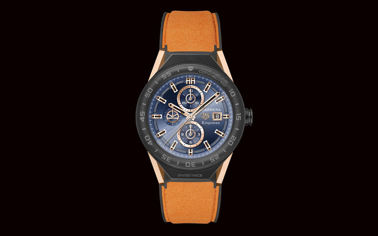 TAG Heuer Connected Modular 45 Kingsman Special Edition, debut en cine