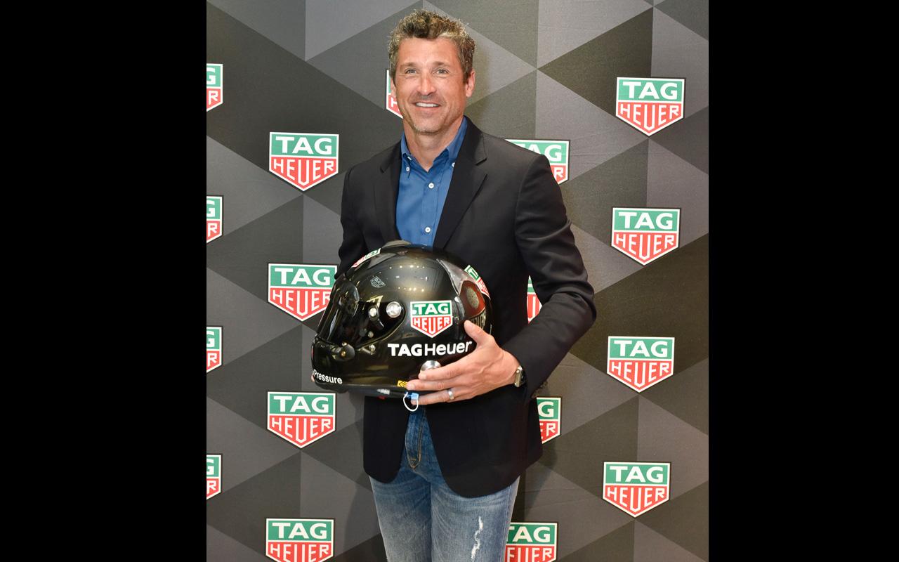 TAG Heuer y Patrick Dempsey viven la emoción de la Fórmula E