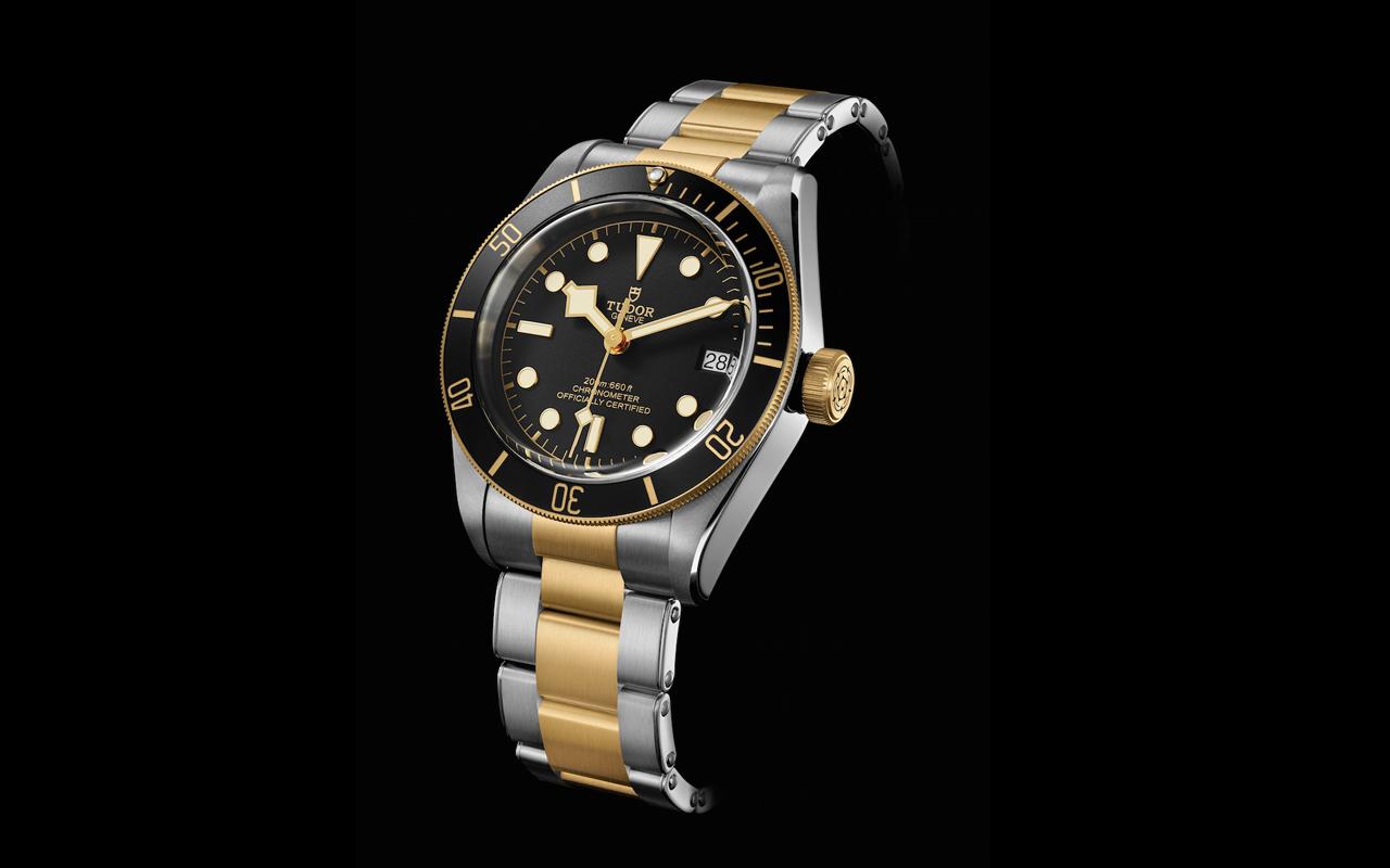 Tudor Heritage Black Bay S&G, nueva versión en acero y oro amarillo