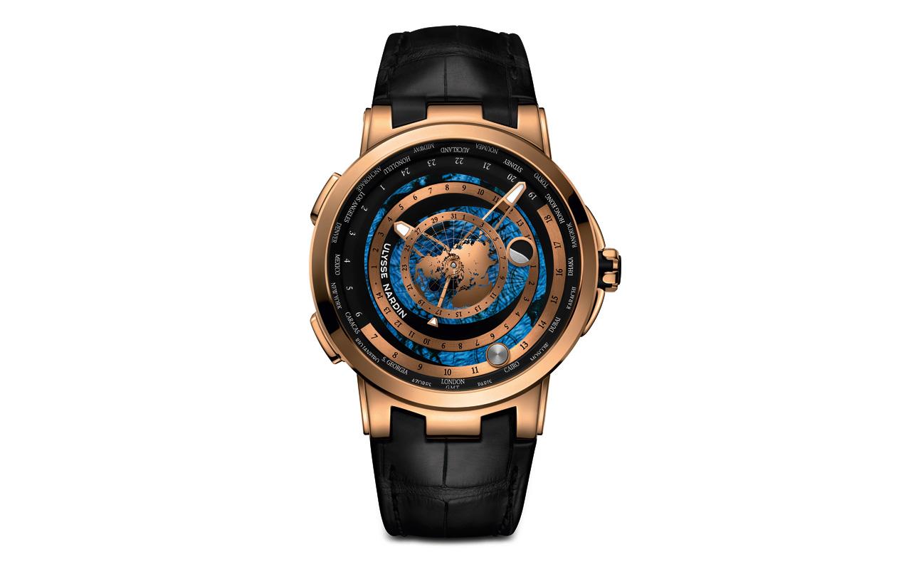 Ulysse Nardin Executive Moonstruck Worldtimer, alta precisión astronómica