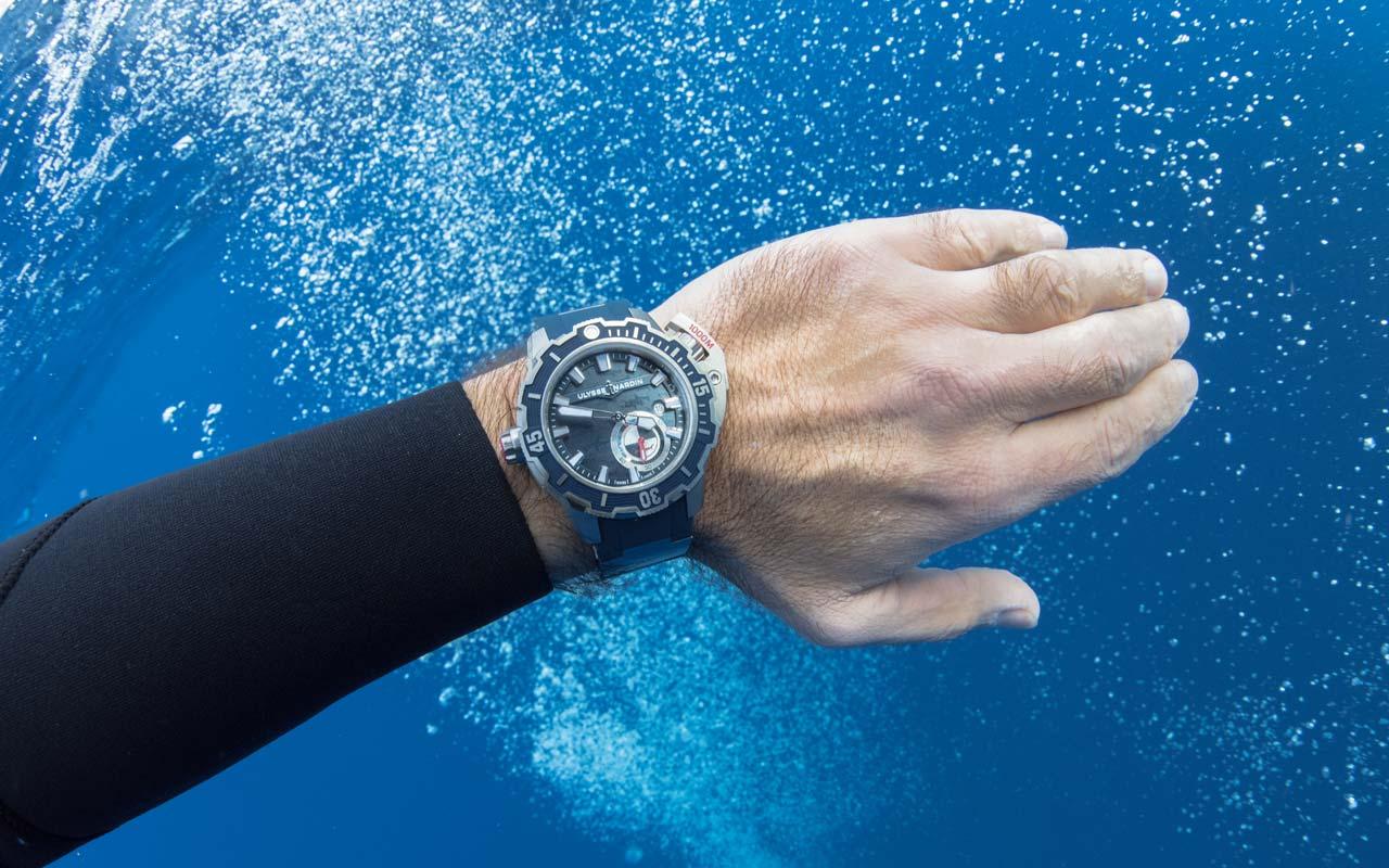 Ulysse Nardin Diver Deep Dive, máxima inmersión