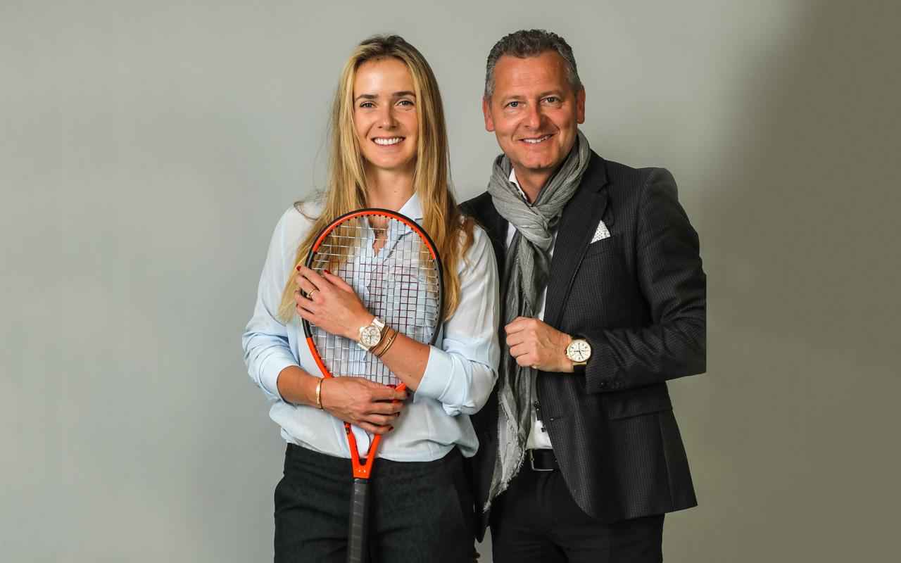 Elina Svitolina, nueva embajadora de Ulysse Nardin